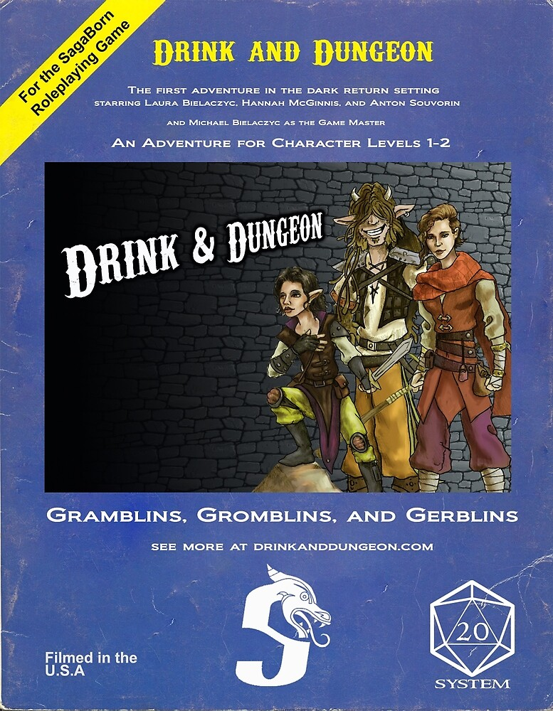 Drink and Dungeon - Adventure 1 by SagaBorn