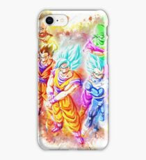 Dragon Ball Super Team iPhone Case/Skin