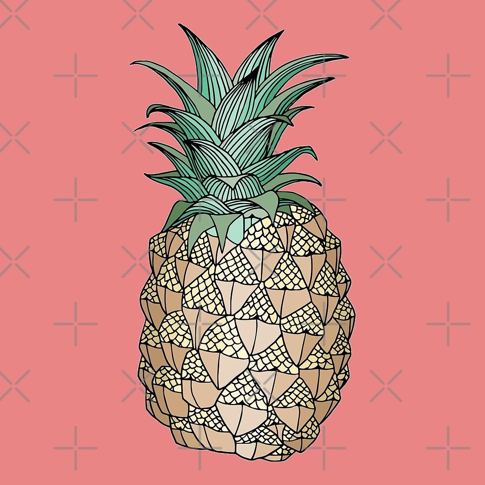 pineapple by sawahsaur