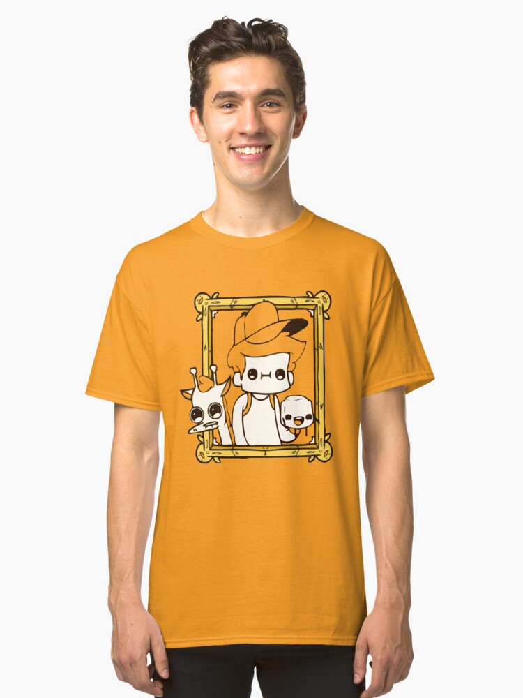 The adventure pals Classic T-Shirt Front