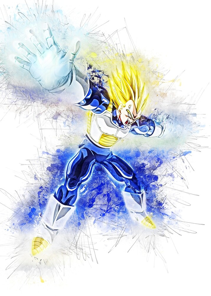 Vegeta by puck4001
