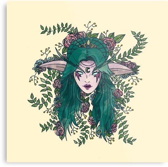 Elven Queen by elvenwings