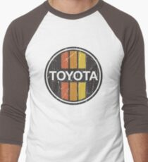 Toyota 1970s Scheme Men's Baseball ¾ T-Shirt