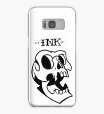 Ink, neotraditional skull Samsung Galaxy Case/Skin