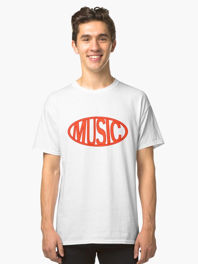 P3 Dancing - Minato/Protag Logo Classic T-Shirt Front