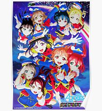 Happy Party Train - Love Aqours! Poster