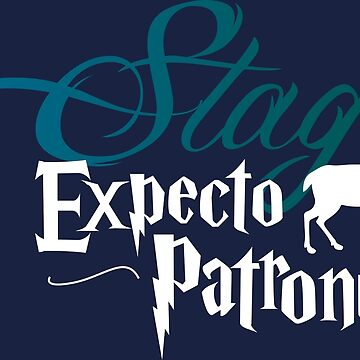 Expecto Patronum Stag by MediaBee