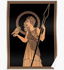 Athena Pottery Poster
