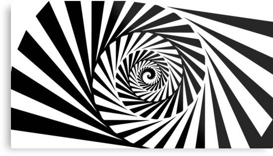 Spiral B&W by Antonio Takahara