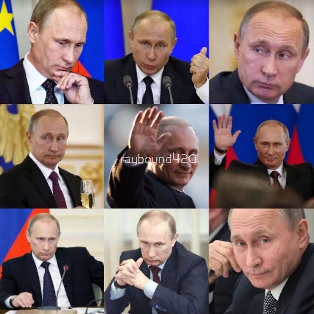 Vladimir Putin by raybound420