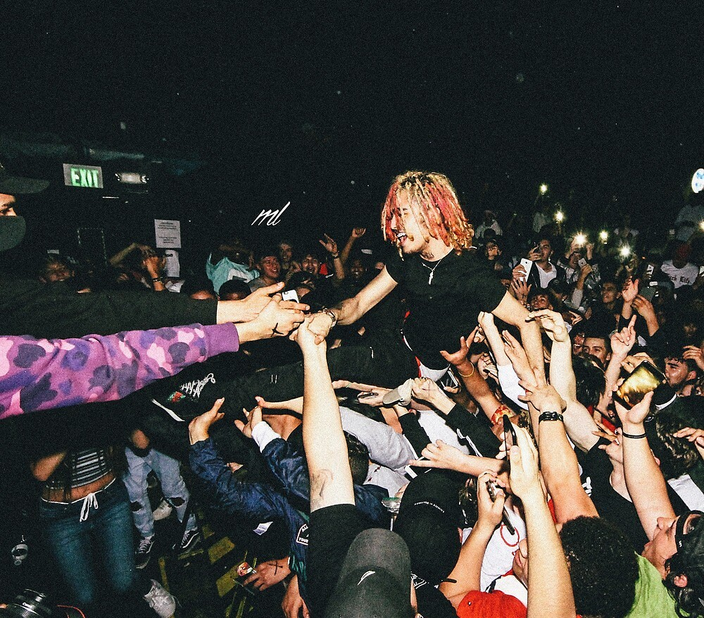 Lil Pump Crowd Surfing by YoungGG