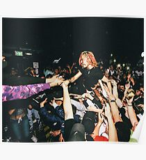Lil Pump Crowd Surfing Poster