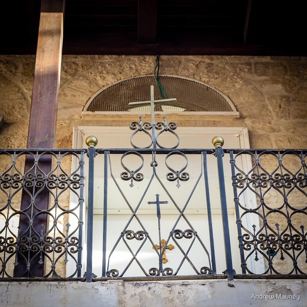 Israel Church Balcony by Andrew Mauney