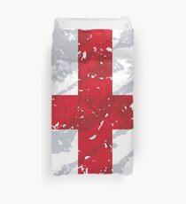 England Grunge Vintage Flag Duvet Cover