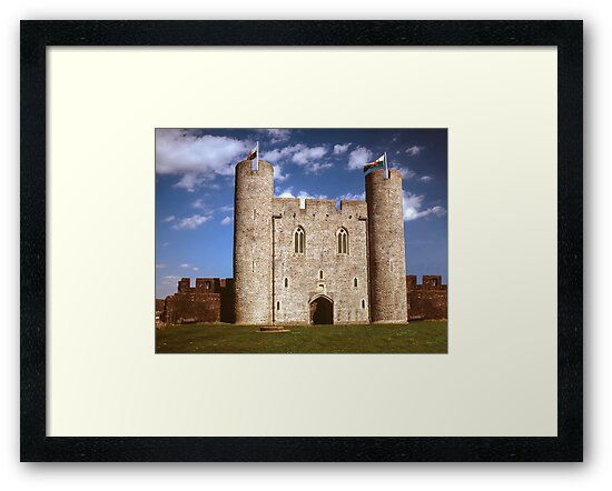 Welsh Castle and Towers, UK by Amber Smith