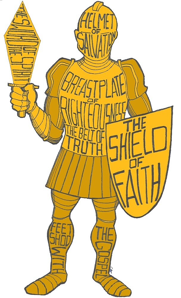 GOLD Armor of GOD! by catmassey2021