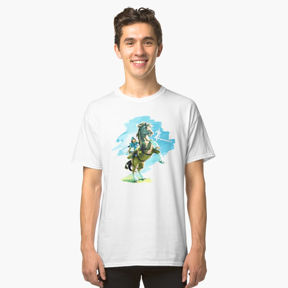 Breath of the Wild Classic T-Shirt Front
