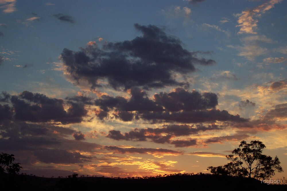 Blue Sunset by roybob