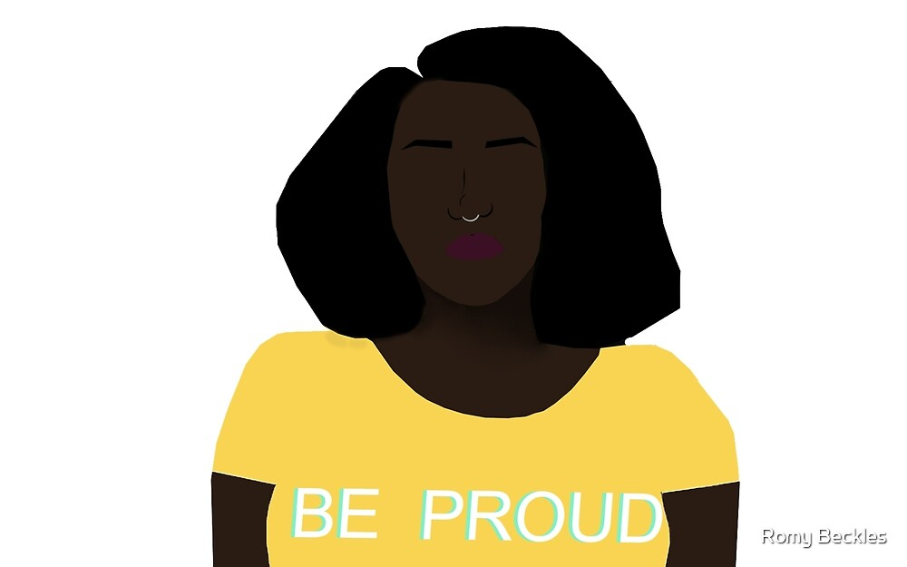 Be Proud by Romy Beckles