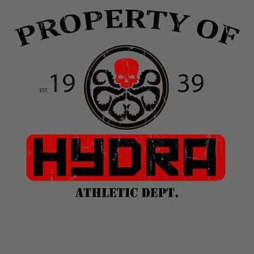 Hydra Athletic Dept. (distressed) by NinjaPirateBear
