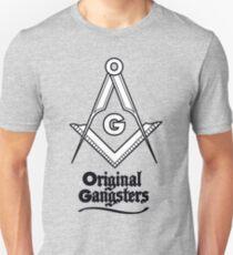 OG - Original Gangsters - Masonic Square & Compass T-Shirt