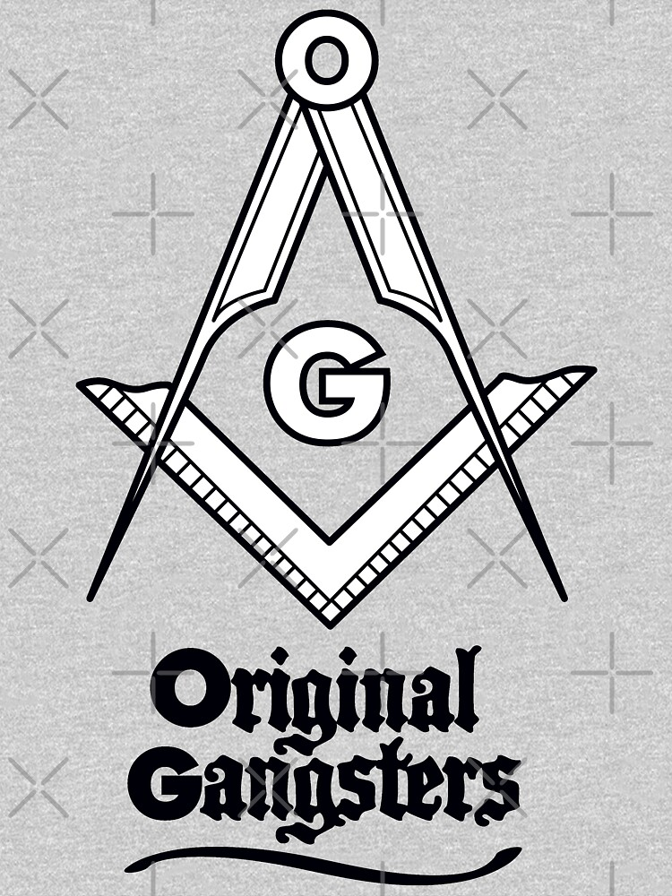 OG - Original Gangsters - Masonic Square & Compass by thedrumstick