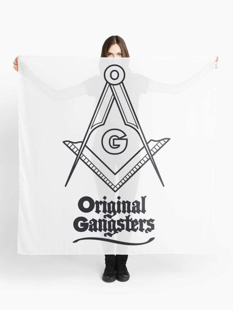 OG - Original Gangsters - Masonic Square & Compass | Scarf