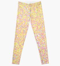 Sunburst - Yellow Sparkle Leggings