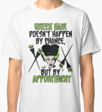 Hairdresser Colorist Humor Funny Wife of Frankenstein Classic T-Shirt