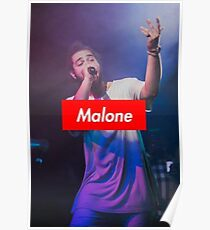 Malone Vibes Poster