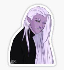 Lotor + Hair Transparent Sticker