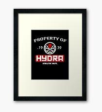 Hydra Athletic Dept. (distressed) Framed Print