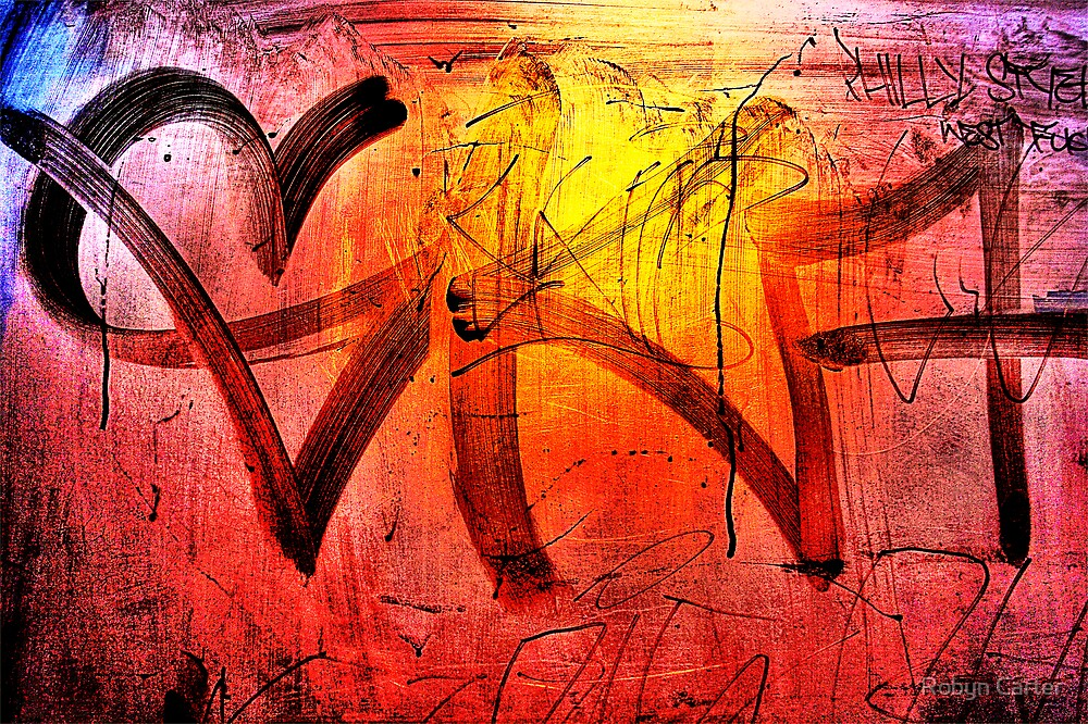 Night Graffiti by Robyn Carter
