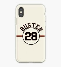 """""""Buster"""" #28 San Francisco iPhone Case"""