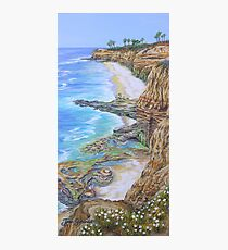 Low Tide Sunset Cliffs Photographic Print