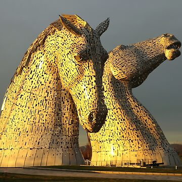 The Kelpies in Scotland by anitahiltz