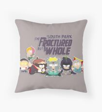 The Fractured But Whole Throw Pillow