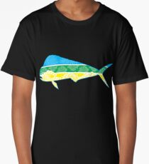Pop Art Dolphin Fish (Mahi) Long T-Shirt