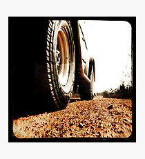 Red Dirt Photographic Print