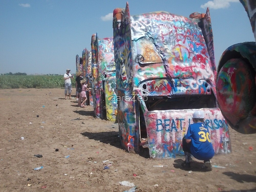 Cadillac Ranch! by zaraZep