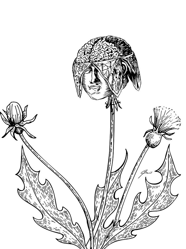 Brain Flower by jasondaniel
