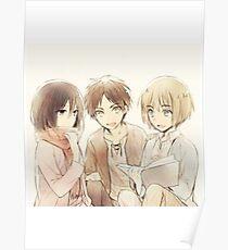 Attack on Titan - Shiganshina Trio Poster