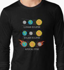 Solar Eclipse Lunar Eclipse Apocalypse Funny Joke T-Shirt