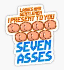 Game Grumps - Seven Asses Sticker