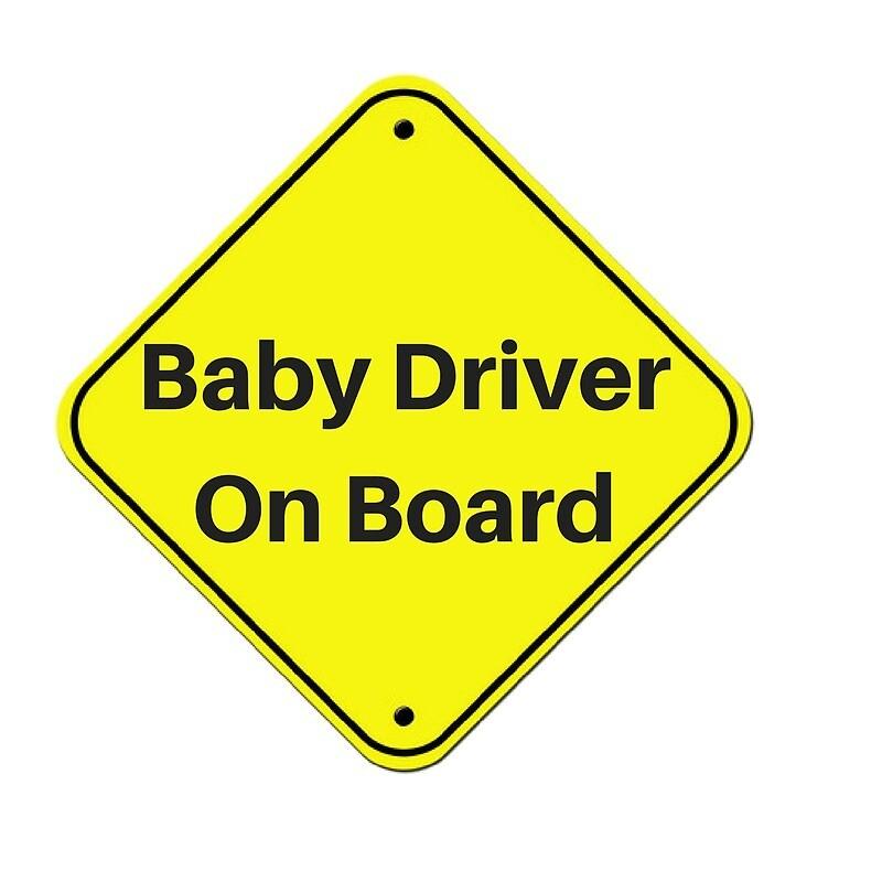 Baby Driver On Board by malloyellow