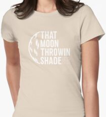 Solar Eclipse Moon Throwing Shade Funny Joke Shirt T-Shirt
