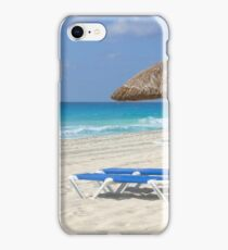 Beach Chairs Cancun iPhone Case/Skin