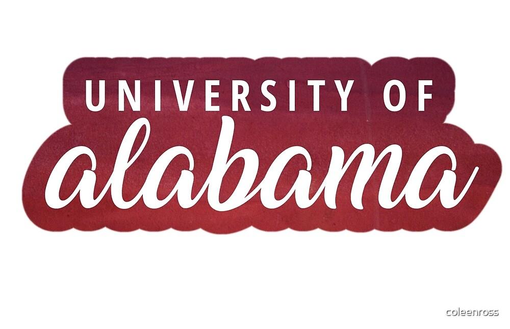 University of Alabama by coleenross