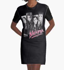BLACKPINK Vintage Grunge T-Shirt T-Shirt Kleid