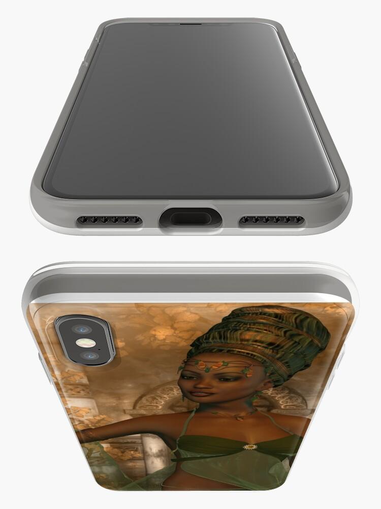 Alternate view of Diaspora-African Goddess iPhone Case & Cover